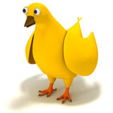 Pollo de la historieta Imagen de archivo