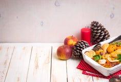 Pollo de la Navidad Imagen de archivo libre de regalías