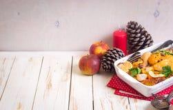 Pollo de la Navidad Foto de archivo libre de regalías