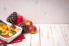 Pollo de la Navidad Imágenes de archivo libres de regalías