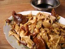 Pollo de la salsa de soja de Teriyaki foto de archivo