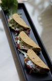 Pollo de los tacos Imagen de archivo