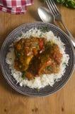 Pollo de Piri Piri imagen de archivo