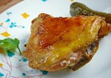 Pollo de Piri-piri imágenes de archivo libres de regalías