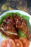 Pollo de Teriyaki Foto de archivo