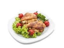 Pollo degli alimenti a rapida preparazione fotografie stock