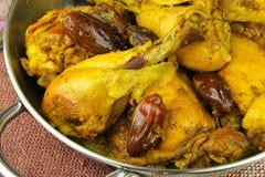 Pollo del azafrán Fotografía de archivo