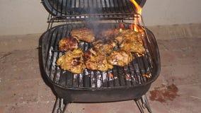 Pollo del barbecue Fotografie Stock