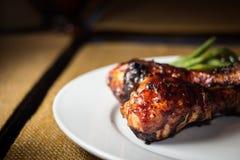 Pollo del BBQ Immagini Stock Libere da Diritti
