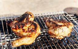 Pollo del BBQ Fotografia Stock Libera da Diritti