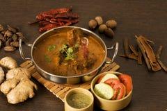 Pollo del burro, piatto dell'India Fotografia Stock Libera da Diritti