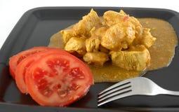 Pollo del curry Fotografia Stock Libera da Diritti