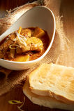 Pollo del curry Immagine Stock
