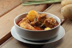 Pollo del curry Immagine Stock