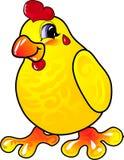 Pollo del fumetto Fotografie Stock