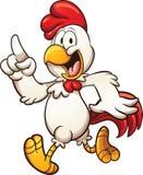 Pollo del fumetto Fotografia Stock Libera da Diritti