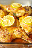 Pollo del limone Fotografia Stock