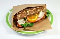 Pollo del panino. Fotografie Stock