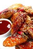 Pollo del peperoncino rosso Fotografie Stock