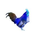 Pollo del poligono Immagine Stock Libera da Diritti