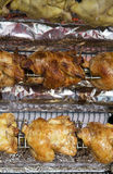 Pollo del Rotisserie Fotografia Stock Libera da Diritti
