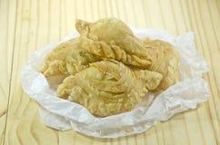 Pollo del soplo del curry Fotos de archivo libres de regalías