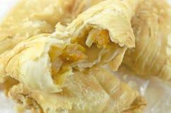 Pollo del soplo del curry Fotografía de archivo libre de regalías