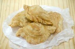 Pollo del soplo del curry Fotos de archivo