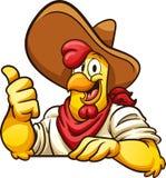 Pollo dell'agricoltore illustrazione di stock