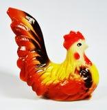 Pollo della ceramica fotografie stock