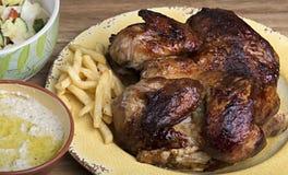 Pollo della griglia Immagine Stock Libera da Diritti