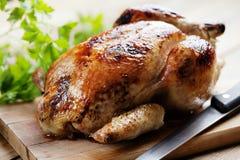 Pollo di arrosto fotografie stock libere da diritti