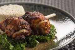 Pollo di Bulgogi del Coreano Fotografia Stock
