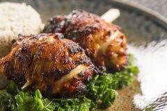 Pollo di Bulgogi del Coreano del BBQ Immagine Stock