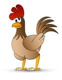 Pollo di Catoon Fotografia Stock Libera da Diritti