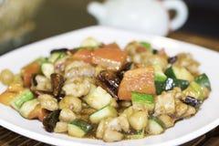 Pollo di Kung Pao Immagine Stock Libera da Diritti