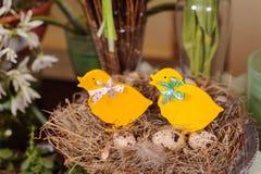 Pollo di Pasqua immagine stock
