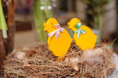 Pollo di Pasqua fotografia stock libera da diritti