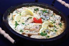 Pollo di Sach con le verdure Immagini Stock