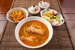 Pollo di soi di Khao Immagini Stock