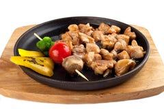 Pollo di Teriyaki con le verdure Immagini Stock Libere da Diritti