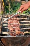 Pollo di torrefazione Fotografia Stock