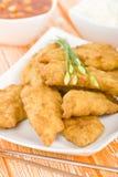 Pollo dolce & acido Fotografia Stock