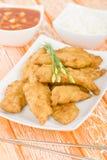 Pollo dolce & acido Fotografia Stock Libera da Diritti