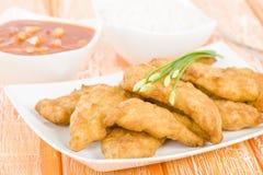 Pollo dolce & acido Immagini Stock