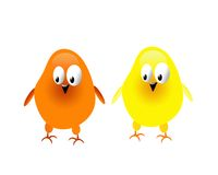 Pollo due Fotografia Stock
