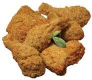Pollo empanado Imagen de archivo libre de regalías