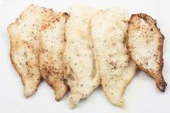 Pollo empanado Fotos de archivo