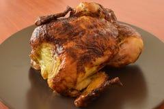 Pollo entero asado Fotografía de archivo libre de regalías