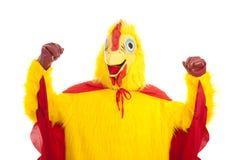Pollo estupendo - demostración de la fuerza Foto de archivo libre de regalías